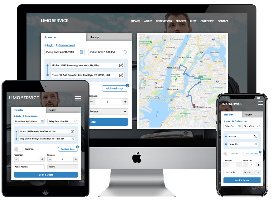 LimoAlliance Custom Website Template